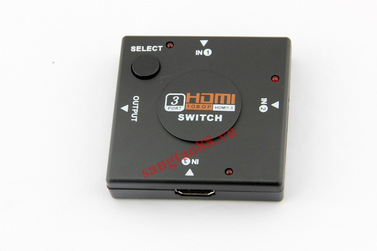 Bộ chia cổng tín hiệu HDMI 3IN - 1OUT