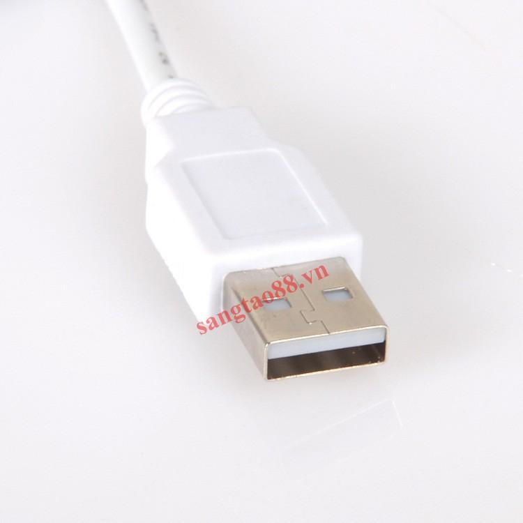 Đèn 60 LED 3 màu siêu sáng tiết kiệm điện cắm cổng USB