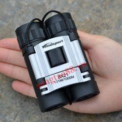 Ống nhòm du lịch mini siêu nét WindSport 8X21
