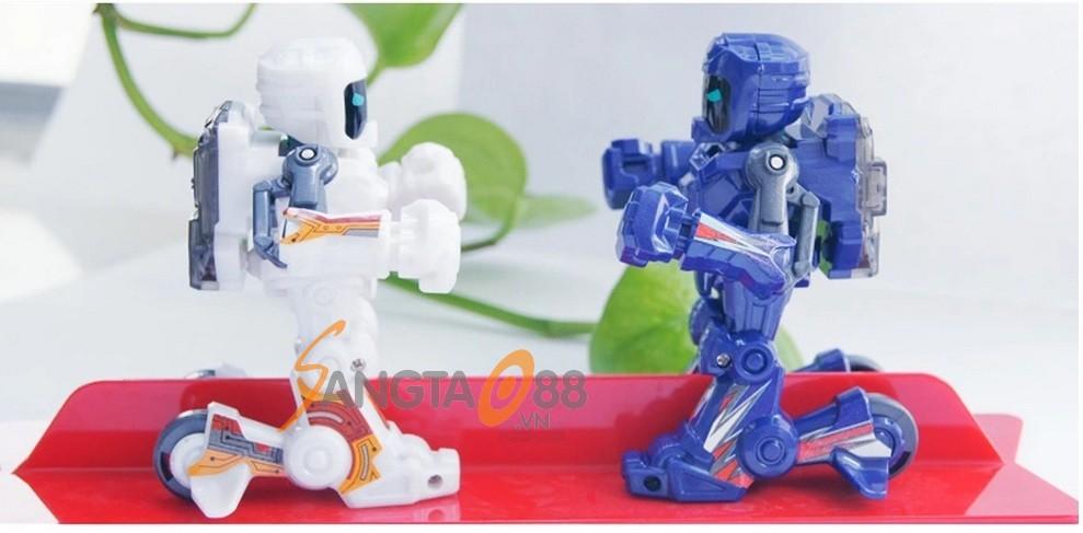 Robot đấm bốc tay cầm điều khiển Battroborg