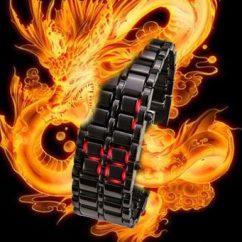 Đồng hồ led thời trang phong cách Samurai
