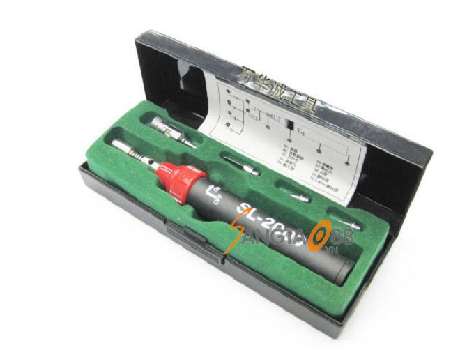 Mỏ hàn thiếc, bật lửa khò bằng gas Model SL - 2000