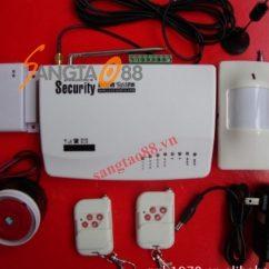 Hệ thống chống trộm thông minh báo qua điện thoại