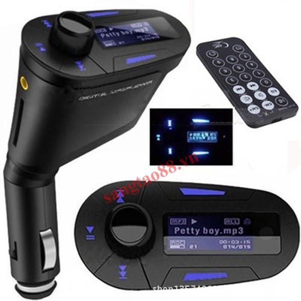 Chuyển đổi nhạc MP3 - FM trên ô tô có ĐKTX
