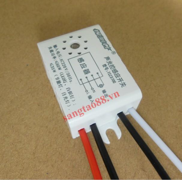 Công tắc cảm ứng âm thanh TCZ3700