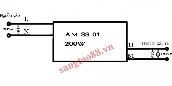 Công tắc phản xạ hồng ngoại Allmay AM-SS-01
