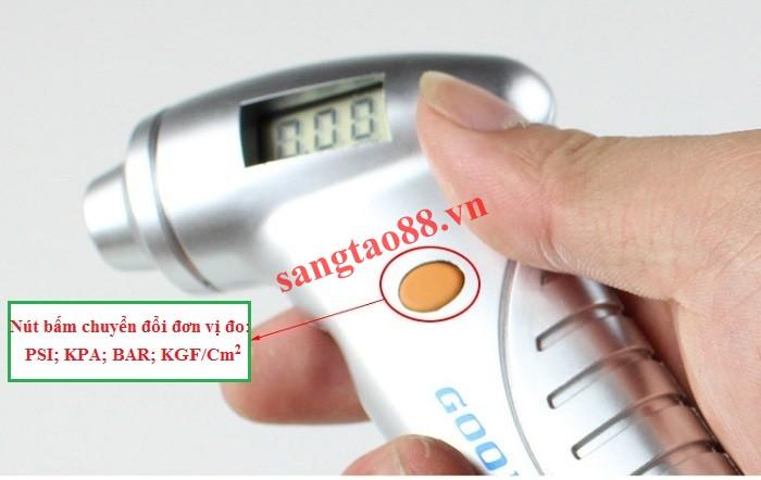 Đồng hồ đo áp suất lốp xe V2