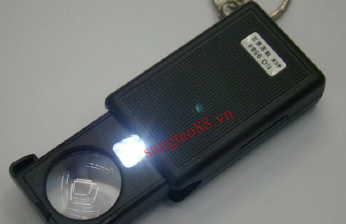Kính lúp 45X mini có đèn
