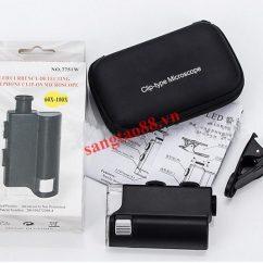 Kính lúp mini 60X-100X kẹp điện thoại