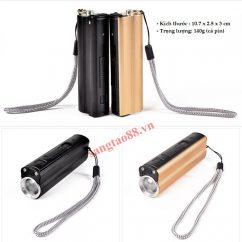 Pin sạc dự phòng kiêm bật lửa - đèn pin siêu sáng