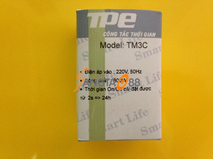 Công tắc hẹn giờ bật tắt luân phiên Model TM3C