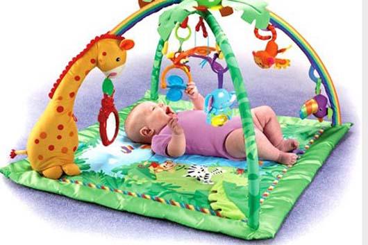đồ chơi cho bé 6 - 9 tháng tuổi