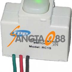Hạt công tắc điều khiển từ xa Model RC1S