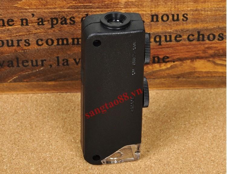 Kính lúp 60-100X mini có đèn