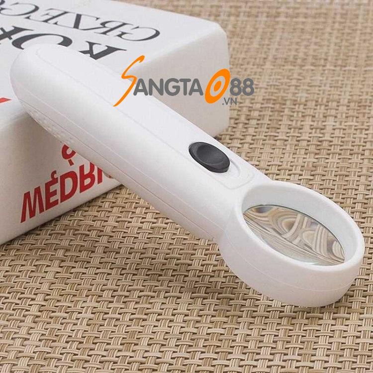 Kính lúp 15X cầm tay có đèn MG6B-2
