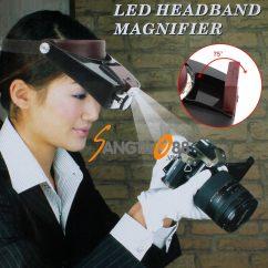 Kính lúp đeo trán có đèn