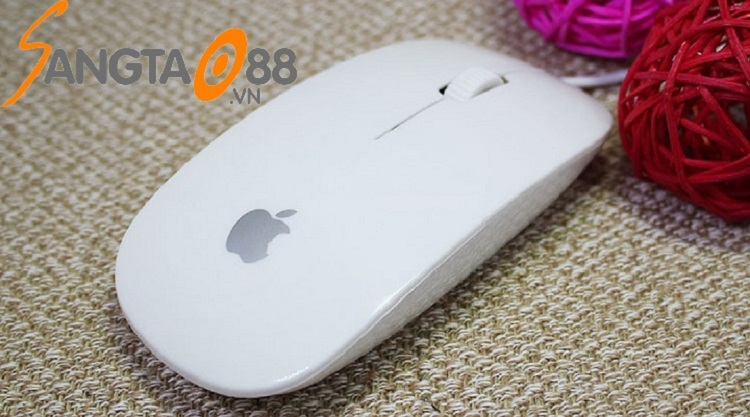 chuột có dây siêu mỏng Apple