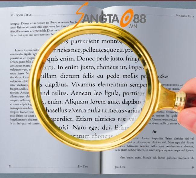 kính lúp cầm tay 90mm
