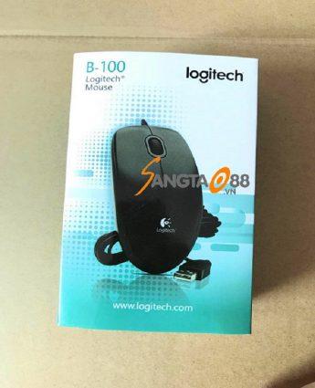 Chuột có dây Logitech B100