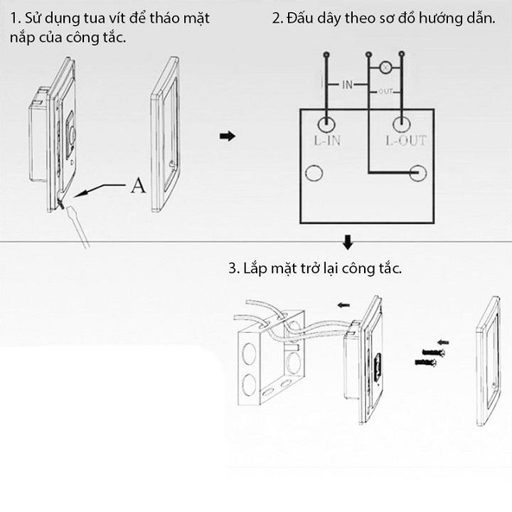 Công tắc phản xạ hồng ngoại v2