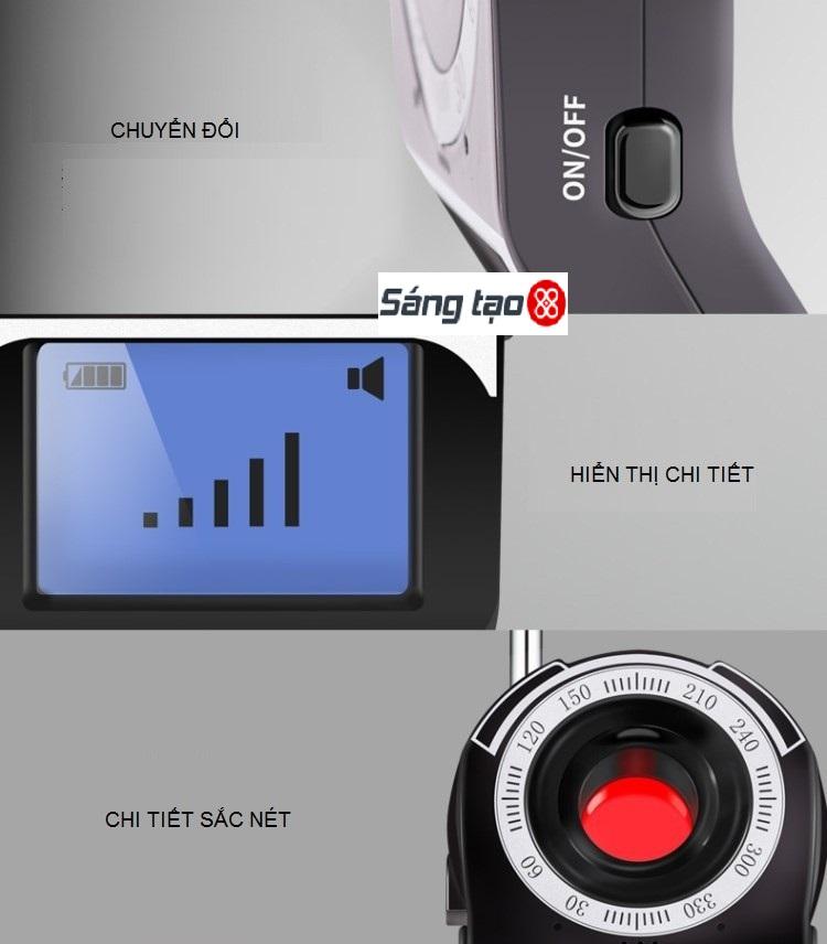 máy phát hiện camera quay lén nghe lén