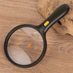 kính lúp cầm tay 138mm có đèn