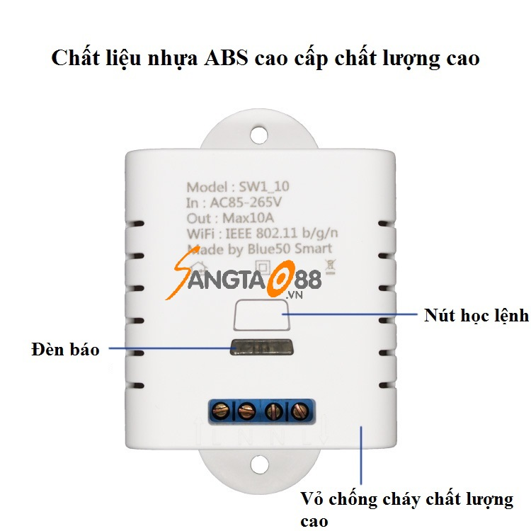 công tắc điều khiển từ xa wifi