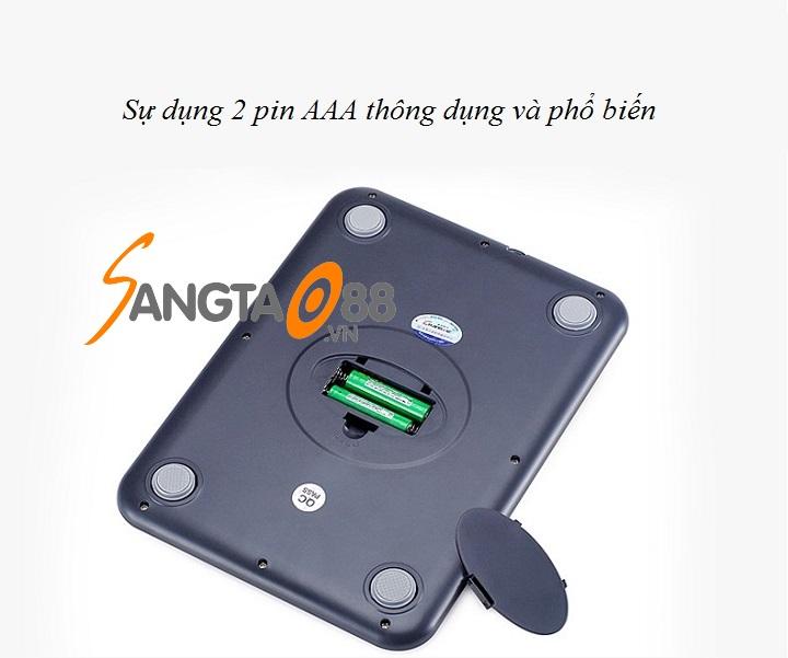 Sử dụng pin AAA