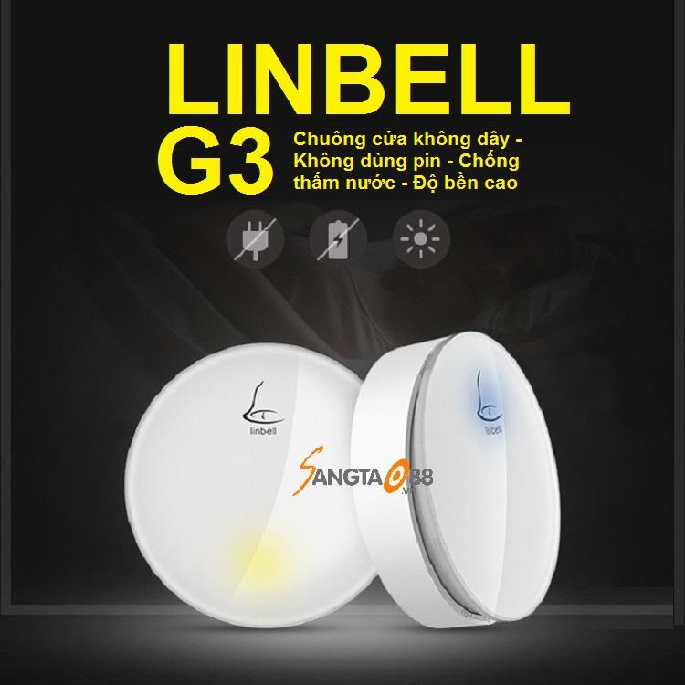 chuông cửa không dây không dùng pin Linptech linbell G3