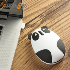 chuột không dây mini Panda mouse