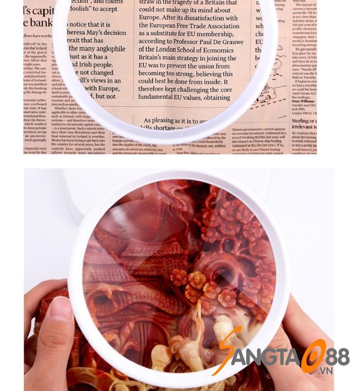 Ứng dụng của kính lúp để bàn