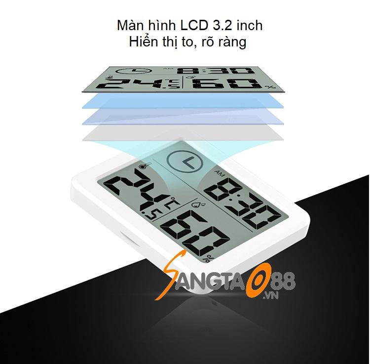 Đặc điểm của đồng hồ đo nhiệt độ, độ ẩm PD-WDJ-01
