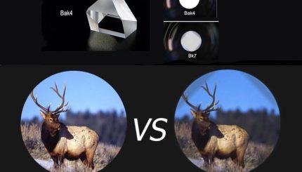 So sánh lăng kính BaK4 và BK7