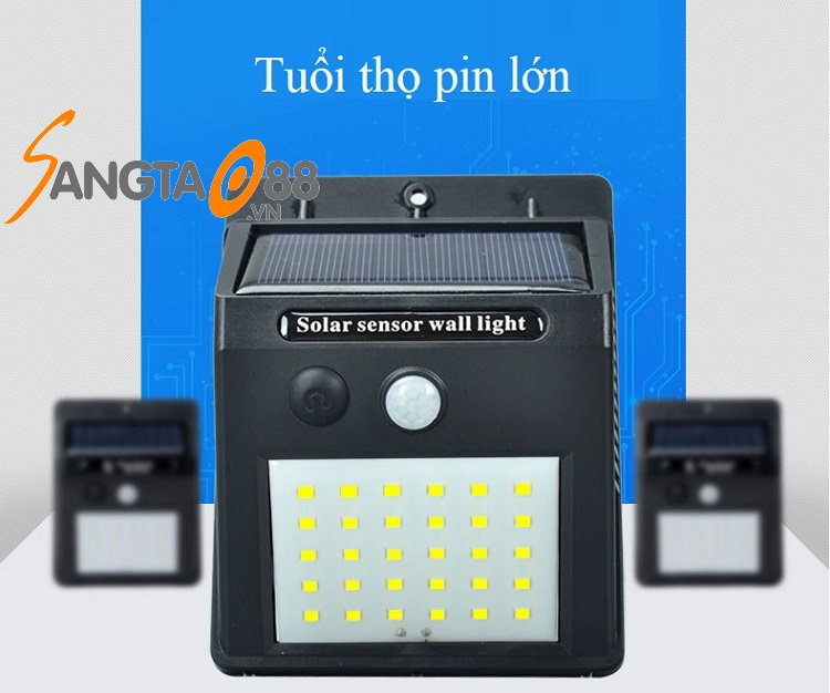 Đèn 30 led cảm biến chuyển động