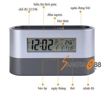 Chi tiết sản phẩm đồng hồ để bàn