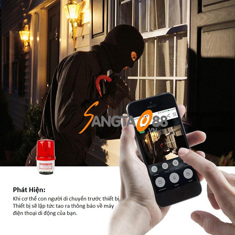 Chuông hình không dây kết nối điện thoại L9