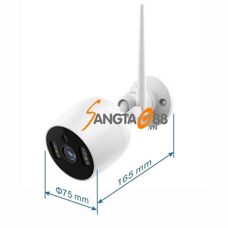 Thông số kỹ thuật của Camera wifi TY-1080P-V7