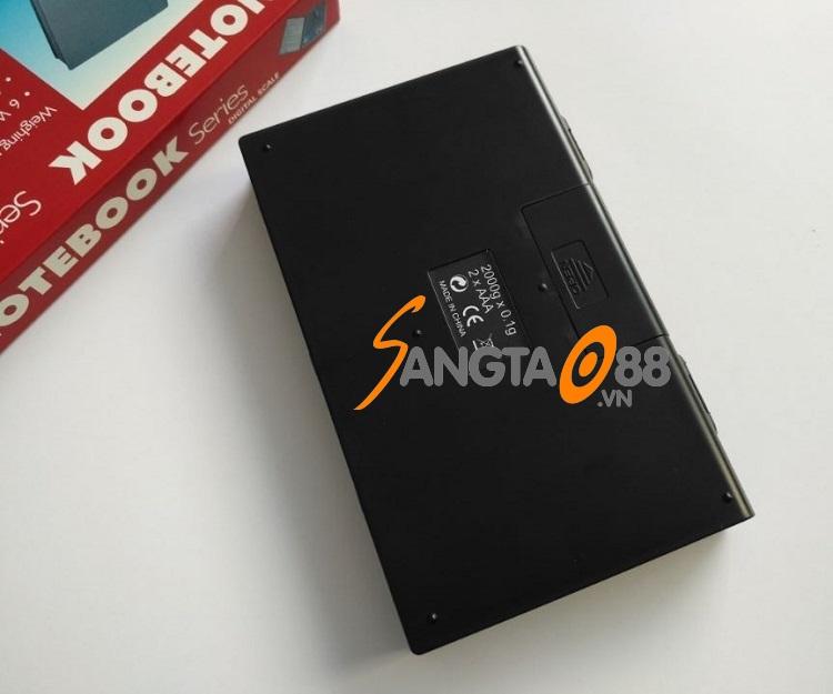 Cân tiểu ly điện tử 2000g/0.1g Notebook