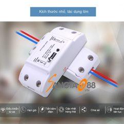 Công tắc ĐKTX Wifi 10A V2 TY-TDQ