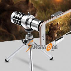 Ống nhòm 12X21 cho điện thoại (màu bạc)