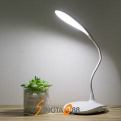Đèn led để bàn cắm USB WS-6016