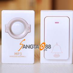 Chuông cửa không dây MR-868