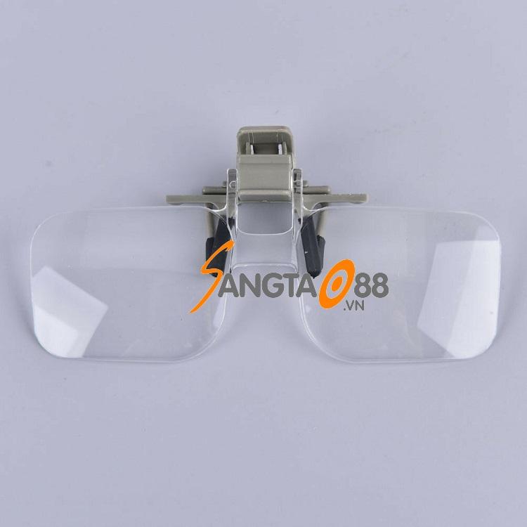 Kính lúp 2X dạng kẹp mắt kính