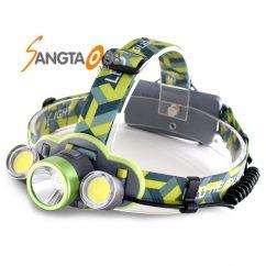 Đèn pin đeo trán T6 COB LED F537