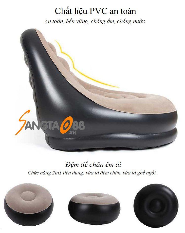 Ghế sofa bơm hơi Senyoubao TH6023